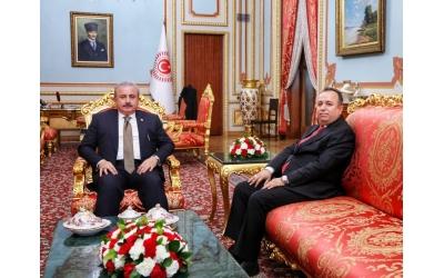 TBMM Başkanı Sayın Prof. Dr. Mustafa Şentop Ziyareti